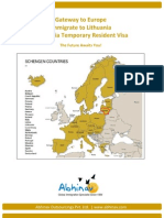 Abhinav Immigration Lithuania Brochure