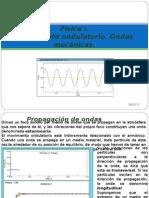 Física I, 14Movimiento ondulatorio. Ondas mecánicas
