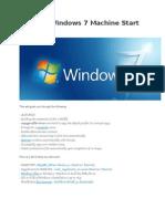 Sysprep Windows 7 Machine Start to Finish