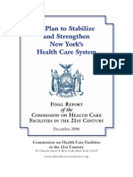 Berger Commission on Healthcare Facilities in the 21st Century - 2006