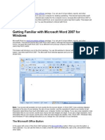 Practical Ms Word