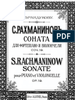 Rachmaninov Cello Sonate