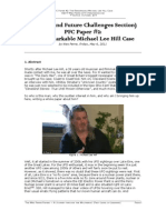 PFCPaper2 the Remarkable Michael Lee Hill Case