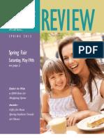 Bon Air Center Review Spring 2012