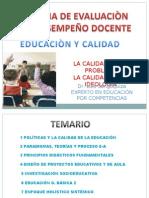 1 POLÍTICAS Y LA CALIDAD DE LA EDUCACIÓN