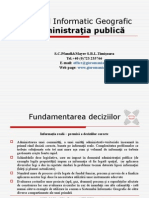 Sistemul tic Geografic WinGIS Professional - Pre Zen Tare Romana - Pt.administratia Publica