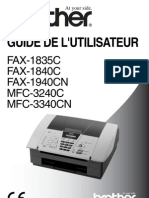 Fax Brother 1840c