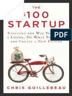 The $100 Startup by Chris Guillebeau - Excerpt
