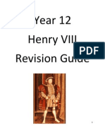 Henry VIII Revision Guide