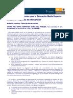 mfgonzález_los_saberes_de_mis_estudiantes_en_el_uso_de_las_Tics_y_de_Internet