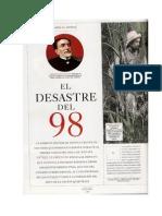 El Desastre Del 98 Articulo