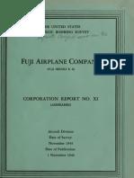 USSBS Report 26, Fuji Airplane Company
