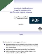 Wicentowski-XMLDatabases