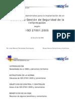 ISO27001 Norma e Implantacion SGSI