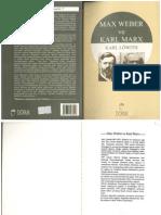 Max WEBER ve Karl MARX - KARL LÖWITH