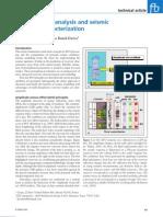 AVO Attribute Analysis and Seismic Inversion Analysis