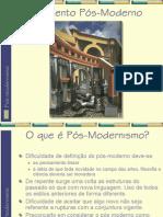 Modernismo x Pos Modernismo