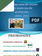 O Ambiente Na UE e Em Portugal