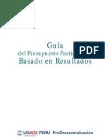 Guia Prodes Presupuesto Participativo VF DIC2010