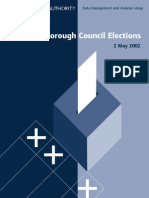 London Borough Council Elections 2002