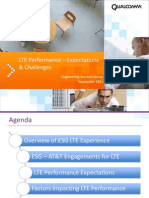 Qualcomm LTE Performance & Challenges 09-01-2011