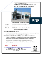 811-813 Fair Oaks Avenue, Pasadena | for Sale