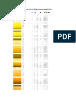 38628766 Tabela de Cores Pantone