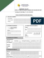 Formulario unico de inscripcion