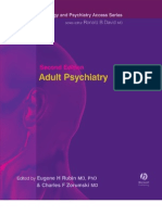 Adult Psychiatry, 2nd Ed 2005