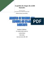 analyse et gestion de risque du crédit bancaire