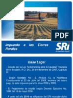 ESTANDAR TIERRAS RURALES 2010