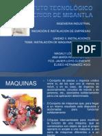 Instalacion de Maquinaria y Equipo