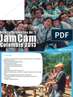2º Boletín - JamCam 2013