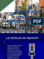 Criterio y Ubicacion de Senales de Transito