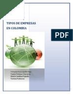 Sociedades Anonimas Tipos de Empresas en Colombia