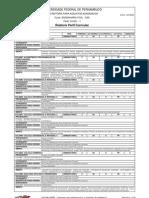 Perfil Curricular - Engenharia Civil
