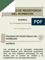 Pruebas de resistencia del hormigón in situ(ACI)