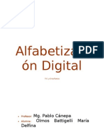 Alfabetizmo Digital
