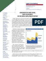 Labor Underutilization High Apr 2012