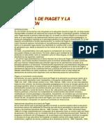 LA TEORÍA DE PIAGET Y LA EDUCACIÓN