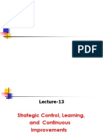 13.Strategic Control