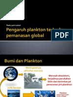 Pengaruh Plankton Terhadap Pemanasan Global