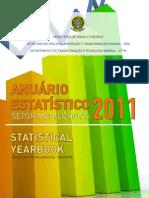 MME Anuario Setor Metalurgico 2011