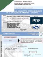 """FAUA UPAO  Expo Tesis """"Hotel 4 Estrellas en el Balneario de Pimentel - Chiclayo"""""""