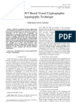 A RSA- DWT Based Visual Cryptographic Steganogrphy Technique by Mohit Goel