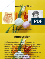 Leonardo Da Vinci. Ps. Jaime Botello Valle.