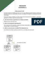 BD 05 - CUESTIONARIO