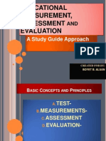 Educational Measurement, Assessment and Evaluation