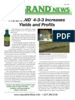 Increase Hay Yields and Profits with Aggrand Fertilizer