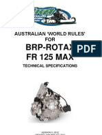 Aust World Rules Rotax Max v5